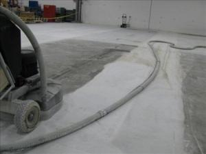Concrete polishing by SafeDry in Florida