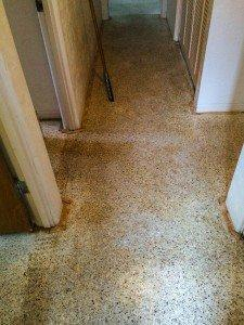 Terrazzo Before Restoration in Florida